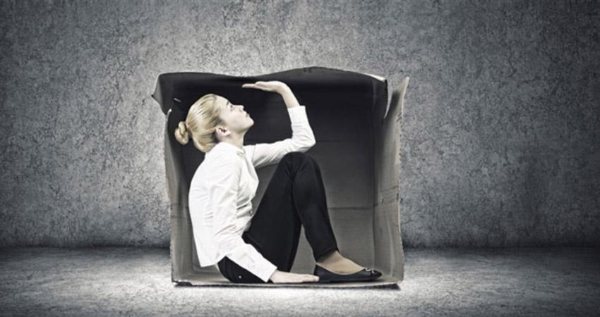 Человек в коробке. Свобода и ответственность неразрывно связаны. Если я свободен, то свободен и совершать ошибки.