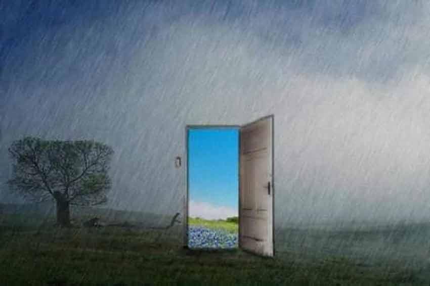 Открытая дверь из зависимости